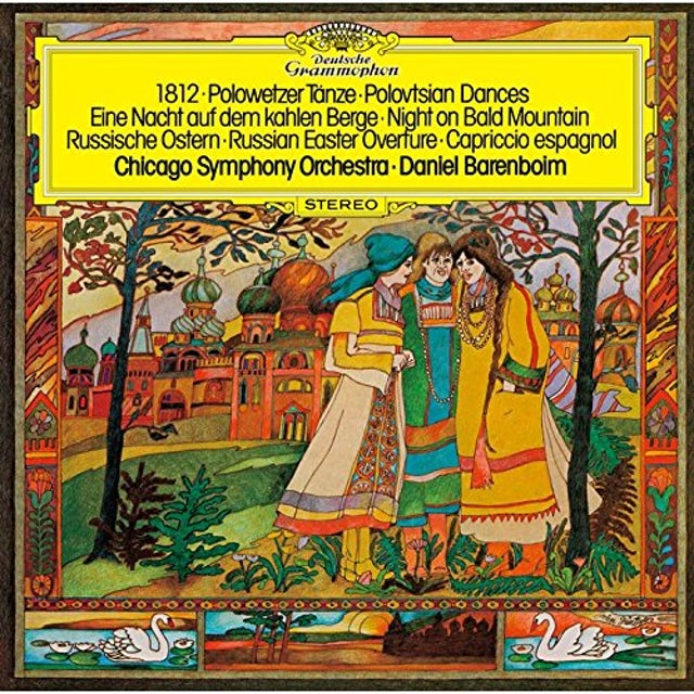 Daniel Barenboim RUSSIAN ORCHESTRAL WORKS CD