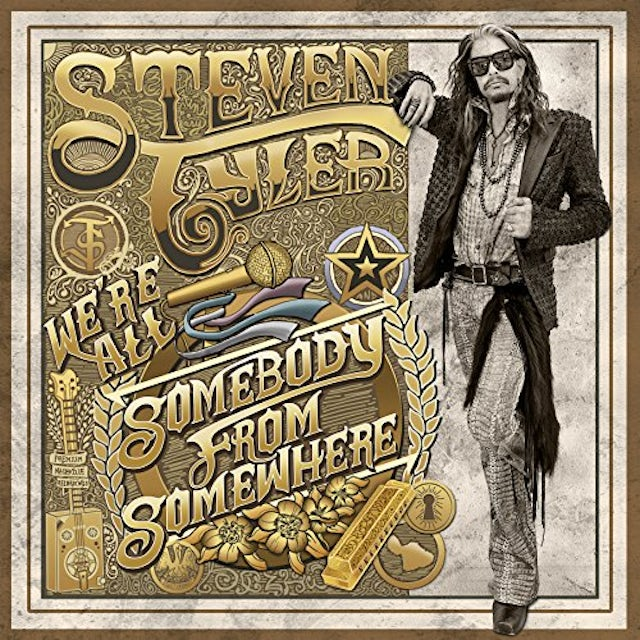 Steven Tyler SOMEBODY FROM SOMEWHERE CD