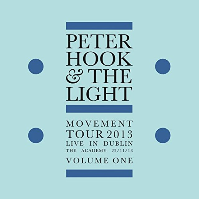 Peter Hook & The Light MOVEMENT: LIVE IN DUBLIN VOL 1 Vinyl Record