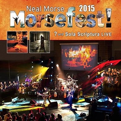 Neal Morse MORSEFEST 2015 SOLA SCRIPTURAL & LIVE Blu-ray