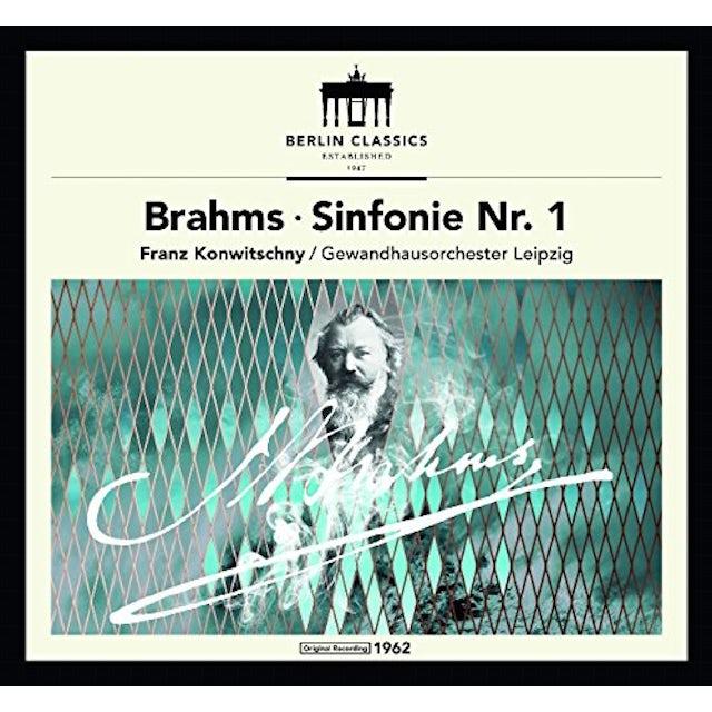 Brahms / Konwitschny BRAHMS: SYMPHONY NO 1 CD