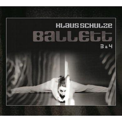 Klaus Schulze BALLETT 3 & 4 CD