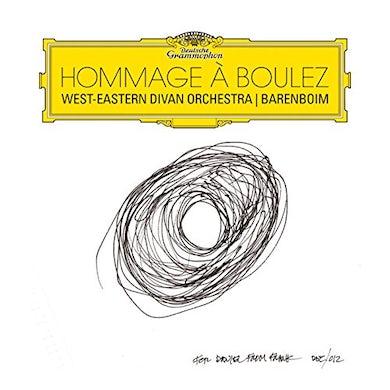 Daniel Barenboim HOMMAGE A BOULEZ CD
