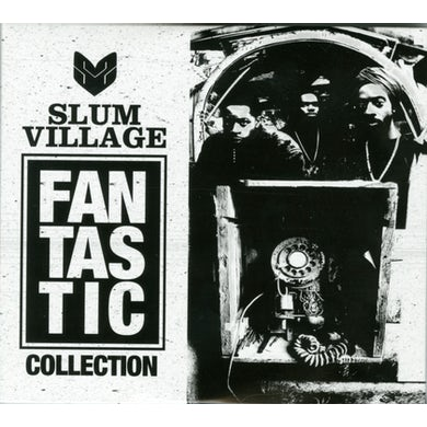 Slum Village FANTASTIC COLLECTION CD