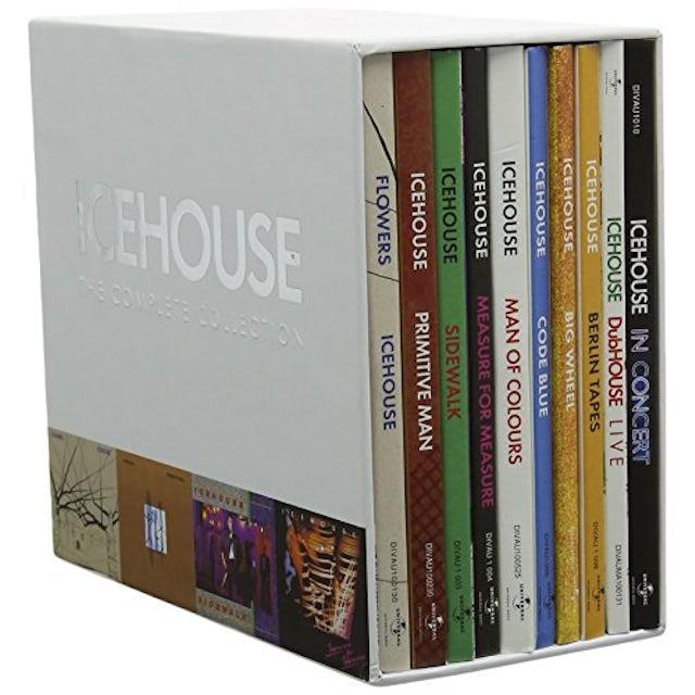ICEHOUSE: 40TH ANNIVERSARY BOX SET (PAL REGION 0) CD