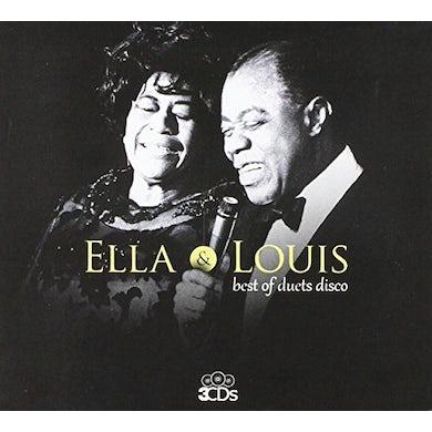 Ella Fitzgerald ELLA & LOUIS BEST OF DUETS DISCOS CD