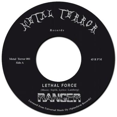 Ranger LETHAL FORCE / NIGHT SLASHER Vinyl Record