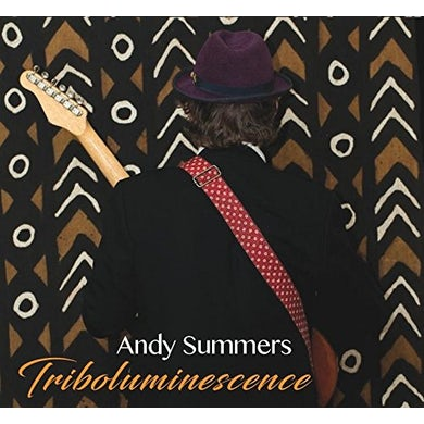 Andy Summers TRIBOLUMINESCENCE CD