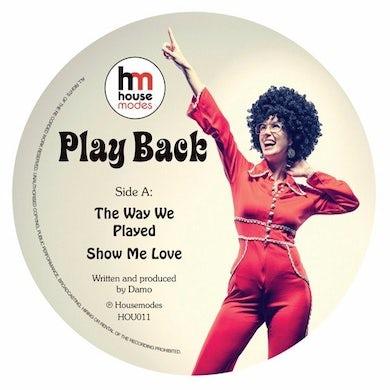 Damo PLAY BACK EP Vinyl Record