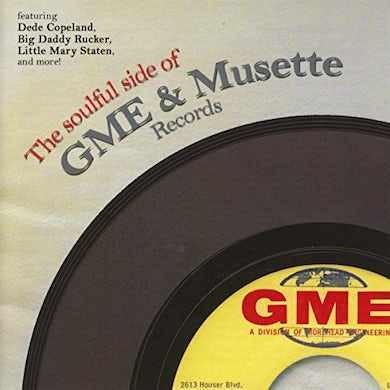 Soulful Side Of Gme & Musette Records / Various CD