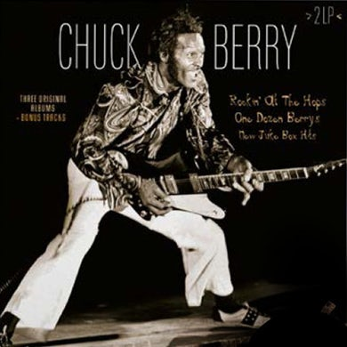 Chuck Berry ROCKIN AT THE HOPS / ONE DOZEN BERRY / NEW JUKE Vinyl Record