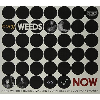 Cory Weeds AS OF NOW CD