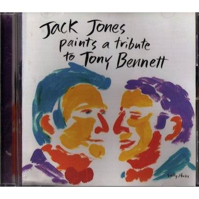 Jack Jones PAINTS A TRIBUTE TO TONY BENNETT CD