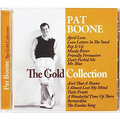Pat Boone GOLD COLLECTION CD