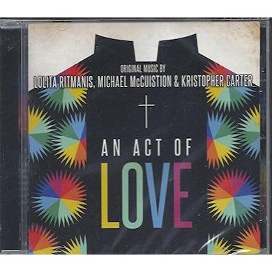 AN ACT OF LOVE - Original Soundtrack CD