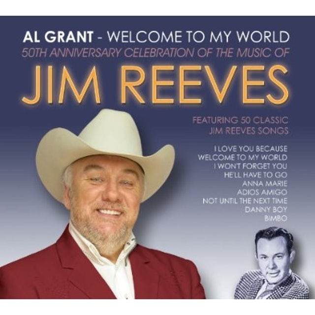 Al Grant WELCOME TO MY WORLD CD