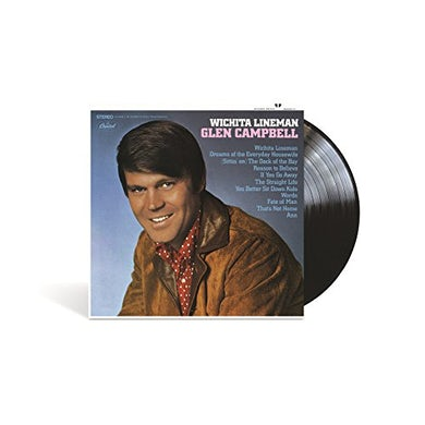 Glen Campbell WICHITA LINEMAN Vinyl Record