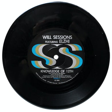 Will Sessions KNOWLEDGE OF 12TH B/W INSTRUMENTAL Vinyl Record
