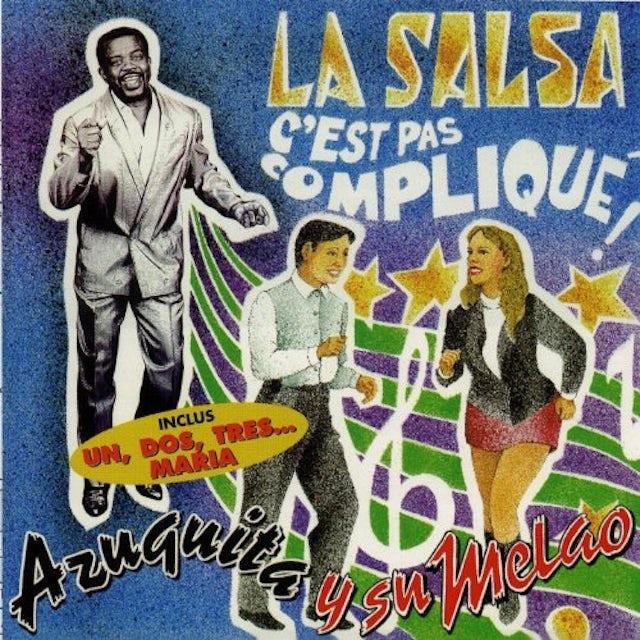 Azuquita LA SALSA C'EST PAS COMPLIQUE CD
