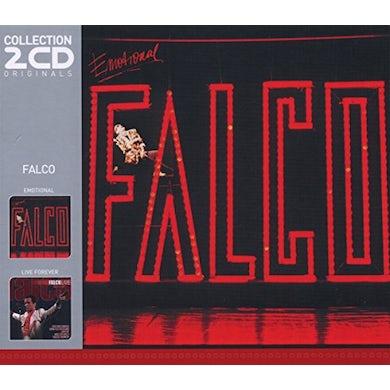 Falco EMOTIONAL / LIVE FOREVER CD