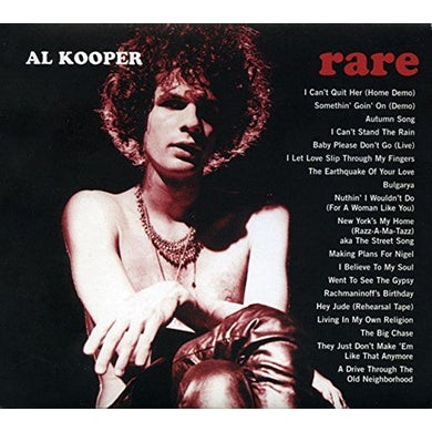 Al Kooper RARE & WELL DONE CD