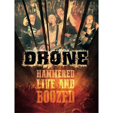 HAMMERED LIVE & BOOZED DVD