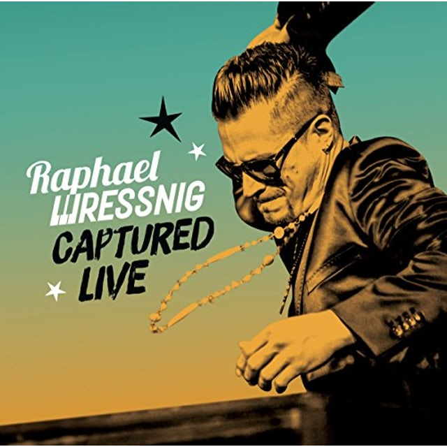 Raphael Wressnig CAPTURED LIVE Vinyl Record