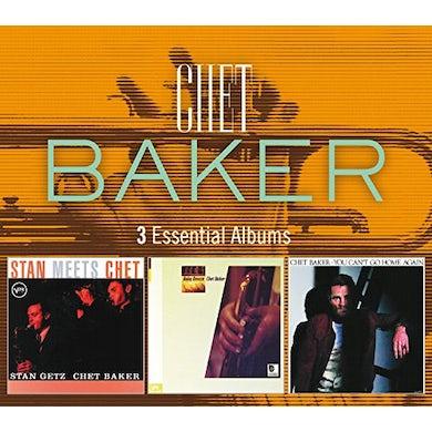 Chet Baker 3 ESSENTIAL ALBUMS CD