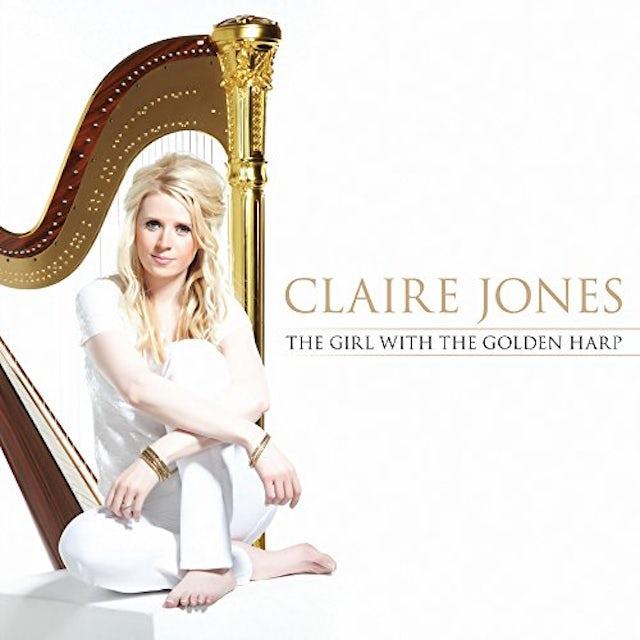 Claire Jones GIRL WITH THE GOLDEN HARP CD