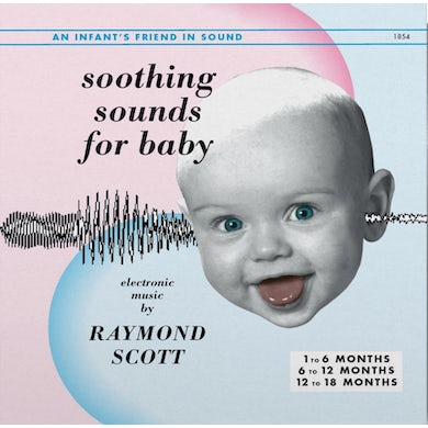 Raymond Scott SOOTHING SOUNDS FOR BABY VOL. 1-3 Vinyl Record