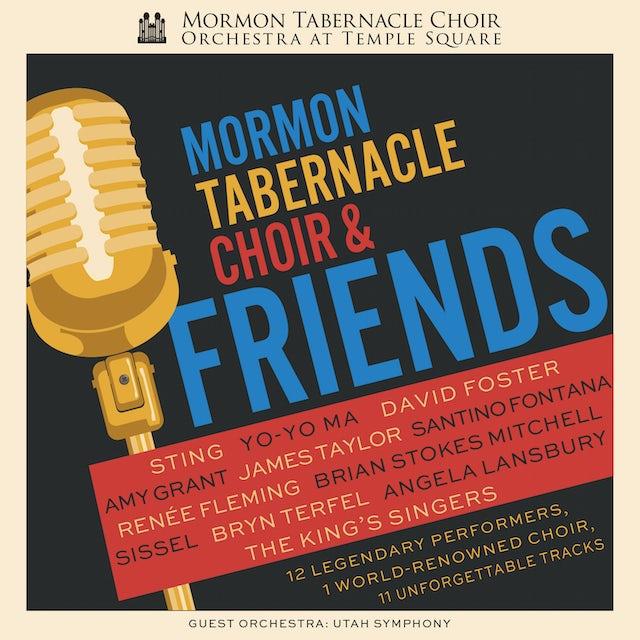 Mormon Tabernacle Choir FRIENDS CD