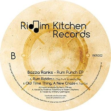 Bazza Ranks RUM PUNCH Vinyl Record