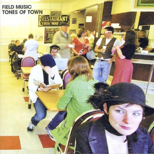 Field Music TONES OF TOWN Vinyl Record