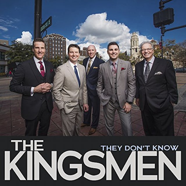Kingsmen THEY DON'T KNOW CD