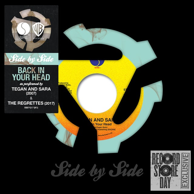 Regrettes & Tegan & Sara BACK IN YOUR HEAD Vinyl Record