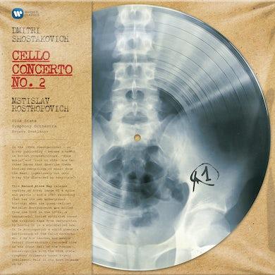 Shostakovich CELLO CONCERTO NO 2 / MONO Vinyl Record