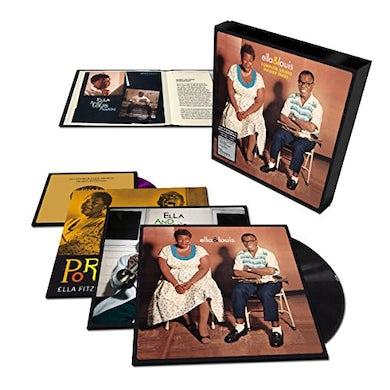 Ella Fitzgerald COMPLETE STUDIO MASTER TAKES Vinyl Record