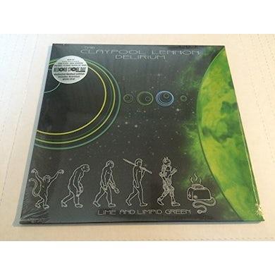 The Claypool Lennon Delirium LIME & LIMPID GREEN Vinyl Record