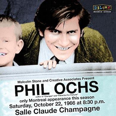 Phil Ochs LIVE IN MONTREAL 10/22/66 Vinyl Record