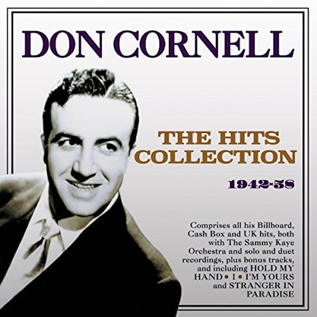 Don Cornell HITS COLLECTION 1942-58 CD
