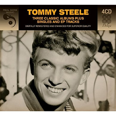 Tommy Steele 3 CLASSIC ALBUMS PLUS CD