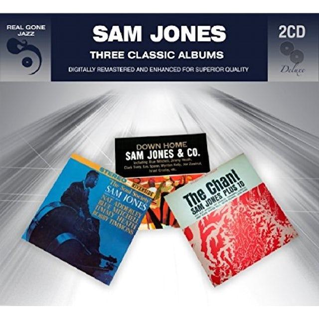 Sam Jones 3 CLASSIC ALBUMS CD