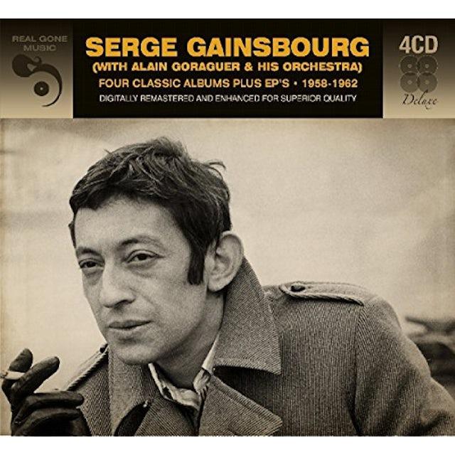 Serge Gainsbourg 4 CLASSIC ALBUMS PLUS EPS 1958-1962 CD