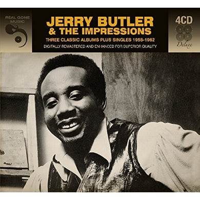 Jerry Butler 3 CLASSIC ALBUMS PLUS CD