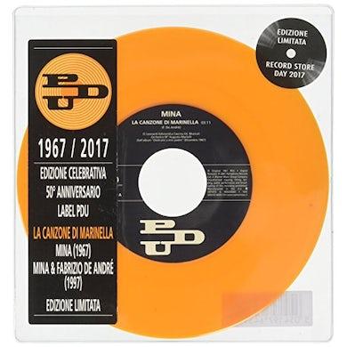 Mina / Fabrizio De Andre LA CANZONE DI MARINELLA Vinyl Record