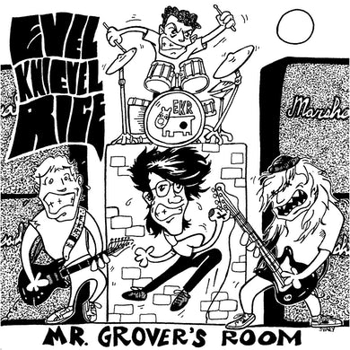 Evel Knievel Rice MR. GROVER'S ROOM Vinyl Record