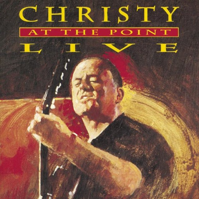 Christy Moore LIVE AT THE POINT Vinyl Record