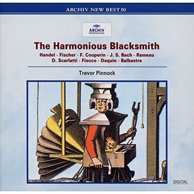 Trevor Pinnock UHARMONIUS BLACKSMITH CD