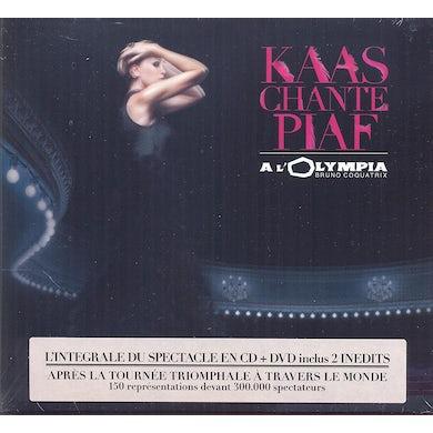 Patricia Kaas KAAS CHANTE PIAF + LIVE AT OLYMPIA DVD CD