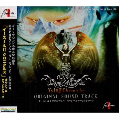 Game Music YS 1 & 2 CHRONICLES / Original Soundtrack CD